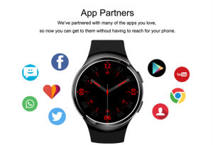 2016 Newest 3G Smartwatch Androld5.1 with Heart Rate Monitoring and Pedemeter Function pictures & photos