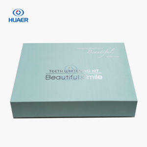 FDA Approved Luxury Teeth Whitening Kit with Mini LED Bleaching Light pictures & photos