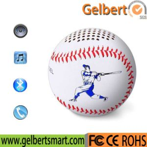 Gelbert Hand Stitched Leather Baseball Bluetooth Speaker pictures & photos