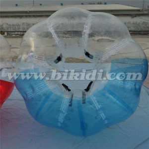 Top Quaity Half Color TPU Bubble Soccer Bubble Ball for Kids D5017 pictures & photos