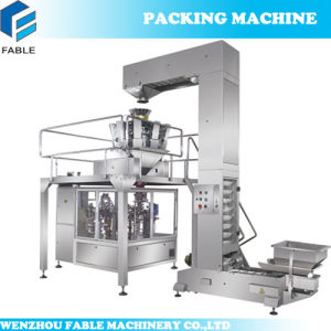 Grain Granule Auto Rotary Sealing Packing Machinery for Bean (FA8-300-S) pictures & photos