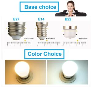 New Intelligent B22 E27 LED Emergency Light Rechargeable LED Bulb pictures & photos