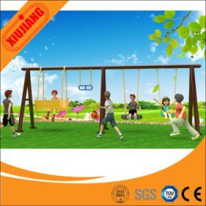Wholesale Safety Garden Swing Outdoor Iron Swing Sets pictures & photos