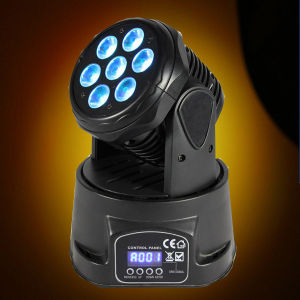 10W Wash Mini LED Stage Lighting with Moving Head pictures & photos