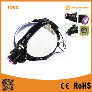 400 Lumen Xml High Power Zoom Xml T6 LED Headlamp pictures & photos