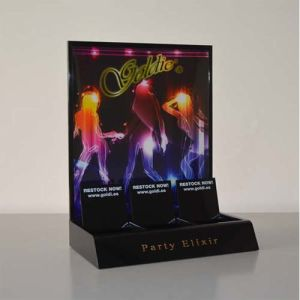 Full Color Printing Acrylic Counter Display Stands, Acrylic Display Racks pictures & photos