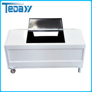 Movable Dustbin Made of Stainless Steel pictures & photos