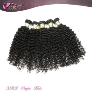 Xbl Kinky Curly Hair Weave Real Indian Hair for Sale pictures & photos