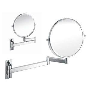 Round Makeup Mirror with SUS304 Stainless Steel Frame (5702)