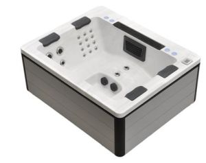 Made-in-China Squre SPA with 36 Jets Et 20 LED Lights pictures & photos