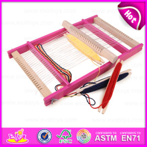 2015 Hot Funny Kid DIY Playset Weaving Loom Toys, Popular Gift Children Wooden Toy Loom, Wooden Creative Kids Loom Toy W01b016 pictures & photos