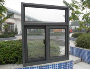 Security Sliding Window with Mosquito Net pictures & photos