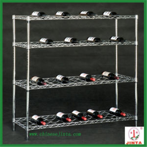 Stainless Steel Wire Supermarket Shelves - 2 pictures & photos