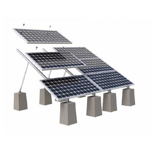 Solar Panel Module System/Flat Roof Adjustable PV Mounting System pictures & photos