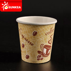 Custom Disposable Hot Coffee Paper Cup 100ml pictures & photos