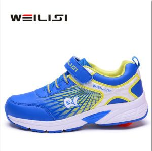 Summer Hollow out Ventilate Fashion Sport Shoes Skate Kids, Roller Wheel Skate Shoes for Men, Retractable Roller Shoes Mesh PU pictures & photos