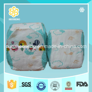 Disposable Breathable OEM Baby Diaper in Vecro Type pictures & photos