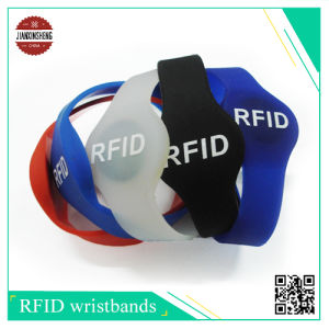 RFID Silicone Wristband with Different Shape Like Half Round Shape pictures & photos