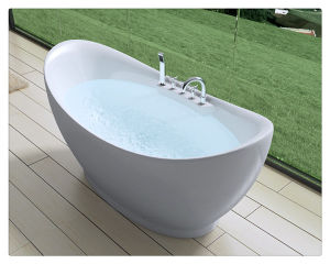 House Freestanding Acrylic Bathtub China Supplier Factory pictures & photos