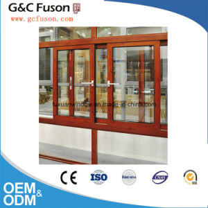 Sound and Heat Resistant Double Glazing Aluminium Opening Windows pictures & photos