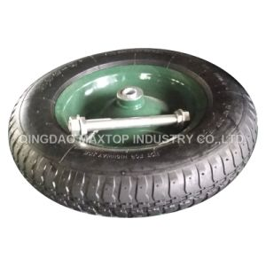 Maxtop Wheelbarrow Tire with Cross Pattern pictures & photos