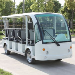14 Seats Chinese Electric Sightseeing Car for Tourist (DN-14) pictures & photos