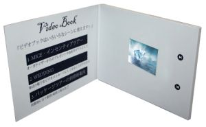 LCD Screen Wedding Birthday Invitation Electronic Video Greeting Cards (VC-028) pictures & photos