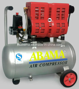 Tat-2524 Portable Silent Oil Free Air Compressor (1HP 24L) pictures & photos