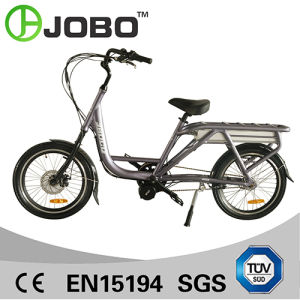 "20"" 500W Centre Motor Electric Bicycle with Rear Carrier for Away Food pictures & photos"
