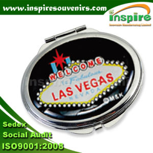 Metal Round Sticker Mirror for Collection pictures & photos
