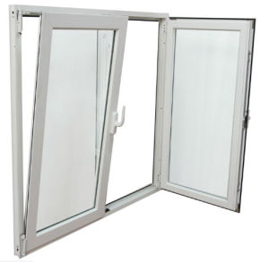 New Style PVC/UPVC Casement and Tilt Glass Window