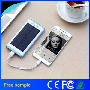 Waterproof Flashlight Portable Solar 12000mAh Power Bank pictures & photos
