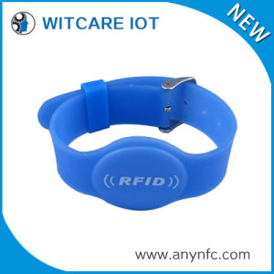 PVC Soft Rubber RFID Wristband for Access Control