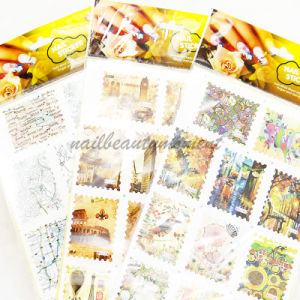 Nail Art Accessories Water Decals Water Transfer Nail Stickers (NPP06) pictures & photos