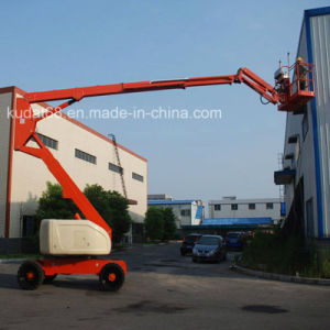 22m Articulating Boom Self-Propelled Aerial Work Platform pictures & photos