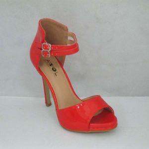 New Style Fashion PU High Heel Women Shoes (TM-W117)