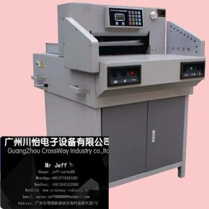 High Quality Guillotine Hydraulic Paper Cutter 520 pictures & photos