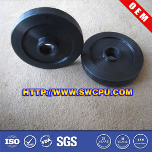 OEM Customized Hard Solid Rubber Wheel pictures & photos