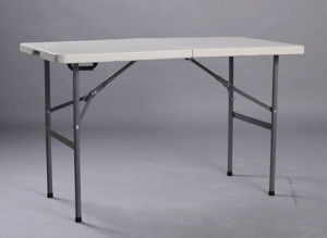 2016 New 4FT Fold-in-Half Dining Table pictures & photos