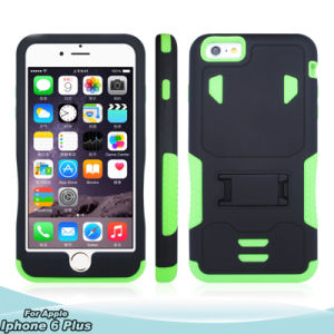 Armor Belt Clip Holster Robot Case with Kickstand for iPhone pictures & photos