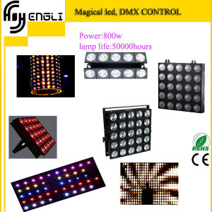 800W LED 25PCS*30W RGB 3in1 Wash Effect Light for Stage pictures & photos