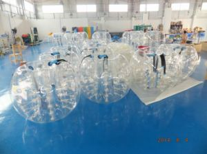 TPU Material Inflatable Bumper Ball, Inflatable Soccer Bubble