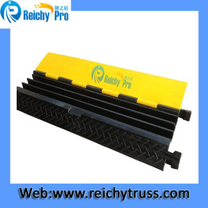 3 Channel Cable Protector, Three Channel Cable Ramp pictures & photos