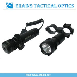 Green Laser Sight Scope and Tactical Flashlight Replaceable Head Combo (ES-RQ-FGL) pictures & photos