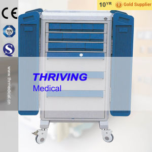 Hospital High Quality Dispensing Trolley (THR-ZY109) pictures & photos