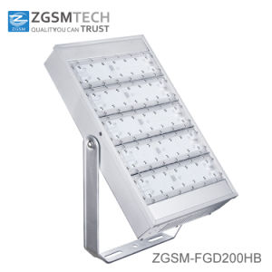 Ce RoHS SAA 200W LED Flood Light with Aluminum Housing pictures & photos