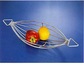 Stainless Steel Kitchen Furniture Olive-Shape Fruit Basket, Kitchen Hardware pictures & photos