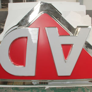 Acrylic Material LED Backlit Illuminated Car Brand Logo Sign pictures & photos
