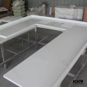 Customized Artificial Stone Quartz Stone Kitchen Countertop pictures & photos