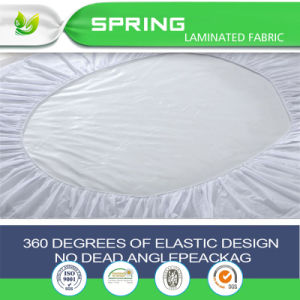 Hypollergenic Bed Bug Dust Proof Waterproof Mattress Protector Cover pictures & photos